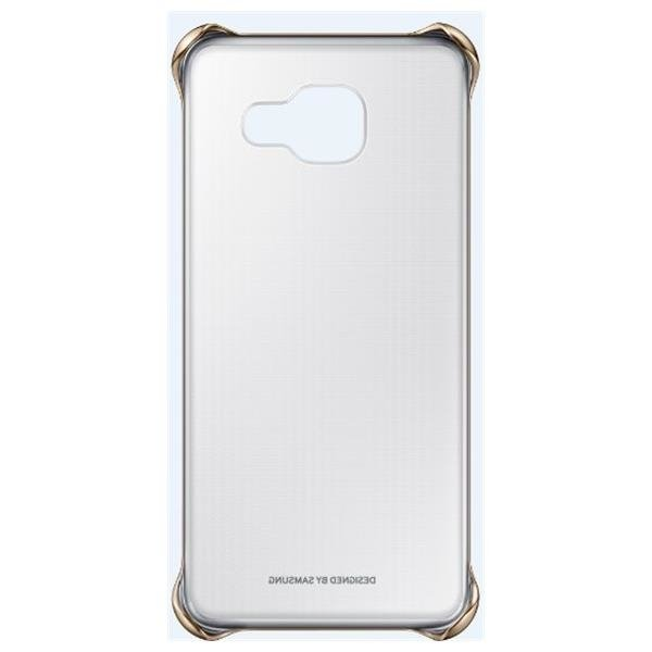 Samsung Cover transparent Gold for Galaxy A3 2016