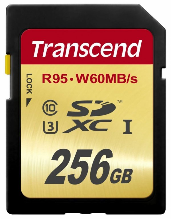 Transcend SDXC 256GB Class10 UHS-I U3 Ultimate