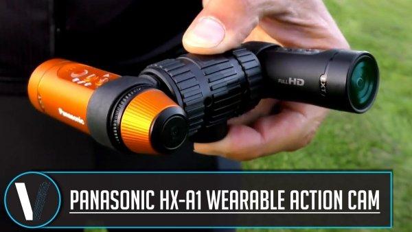 Panasonic VW-TMA1GU-K podwójne mocowanie do HX-A1