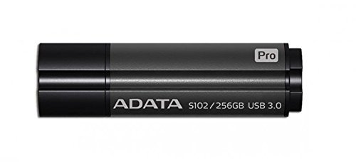 ADATA USB 256GB 50/100 S102 Pro - szary - USB 3.0