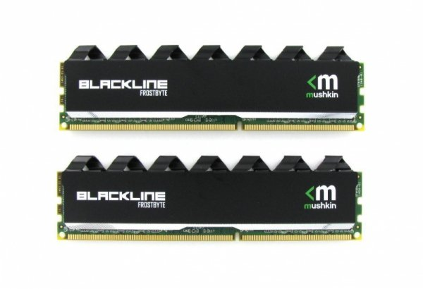 Mushkin DDR3 16GB 1600 Kit - 997110F - Blackline