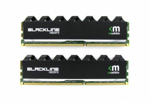 Mushkin DDR3 16GB 1600 Kit - 997110F - Blackline