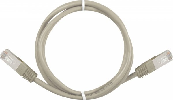 Sharkoon RJ45 Kabel Sieciowy CAT.5e SFTP grey 1,0m