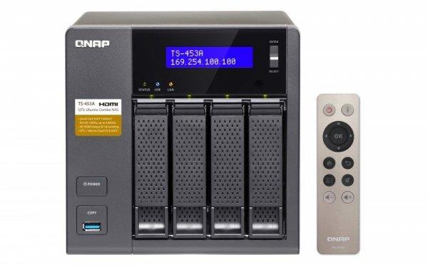 Qnap Turbo Station TS-453A-8G [0/4 HDD/SSD, 4x Gigabit-Lan, 4x USB]