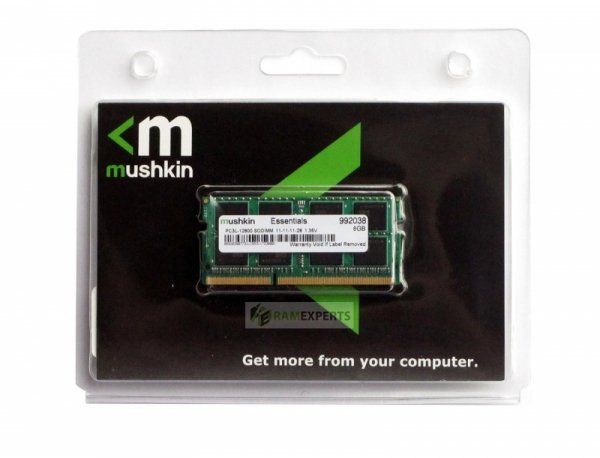 Mushkin SO-DIMM 16GB DDR3L-1600,MES3S160BM16G28, Essentials