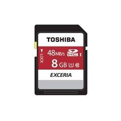 Toshiba SDHC Card Class 10 8GB Exceria R48 UHS I