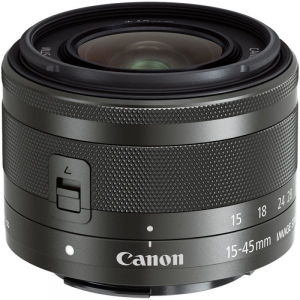 Canon EF-M 3,5-6,3/15-45 IS STM black