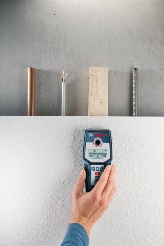 Bosch Detektor instalacji GMS 120 blue