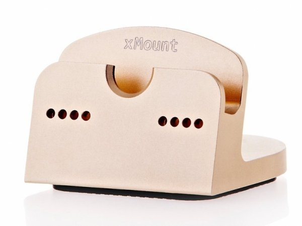 xMount Dock gold Table Mount for iPad / iPhone