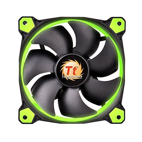 Thermaltake Riing 140 mm LED zielony