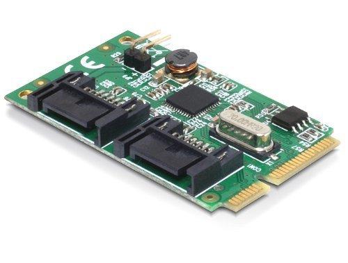 Delock MiniPCIe I/O PCIe 2xSATA 6Gb/s