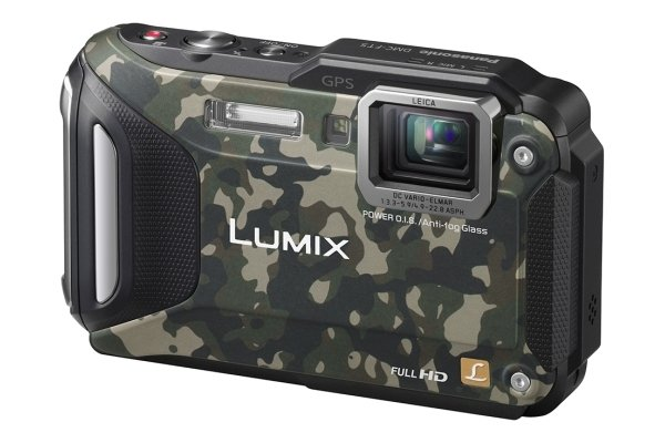 Panasonic Lumix DMC-FT5 camouflage
