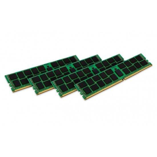 Kingston ValueRAM 32 GB DDR4-2133 Registered Quad-Kit, KVR21R15D8K4/32I, ValueRAM