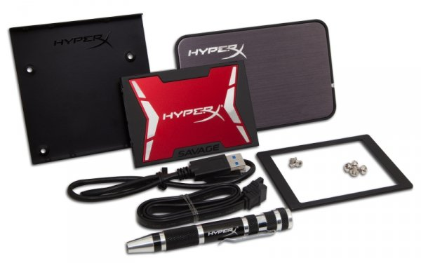 Kingston HyperX SHSS3B7A/960G - 960 GB SSD - SATA - Savage UPGRADE-KIT