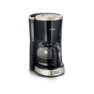 Severin KA 4190 - ekspres do kawy - czarno srebrny
