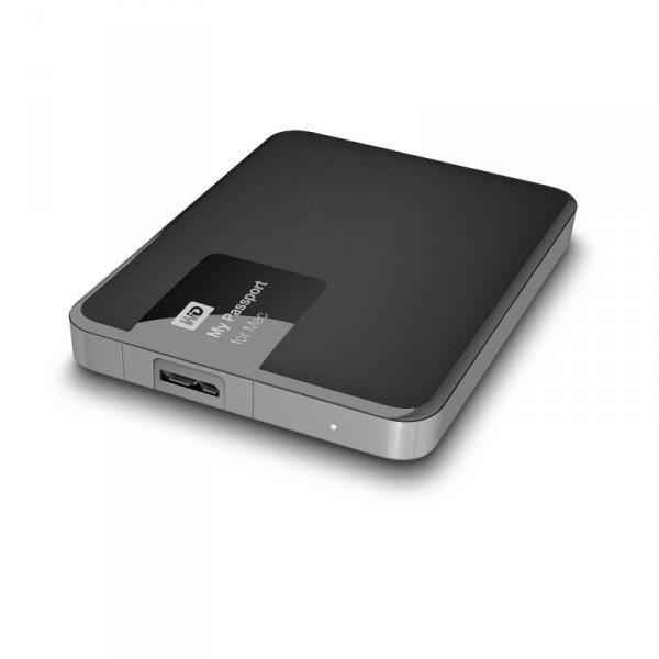 Western Digital My Passport for Mac 2 TB - czarny