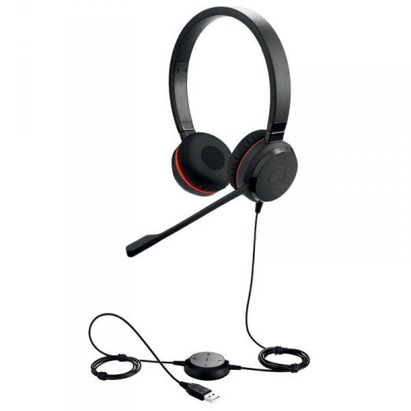 Headset JABRA Evolve 30 MS Duo USB NC