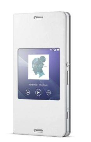 Sony SCR24 Cover with Stand Xperia Z3 compact biały