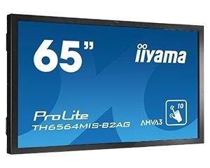 iiyama ProLite TH6564MIS-B2AG, Public Display czarny, HDMI, DVI, DisplayPort, VGA, LAN, Audio