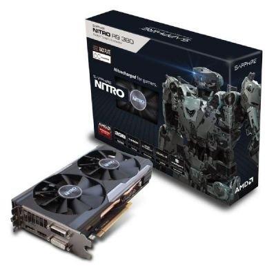 Sapphire AMD Radeon R9 380 OC DUAL-X NITRO, HDMI, DisplayPort, DVI-I, DVI-D