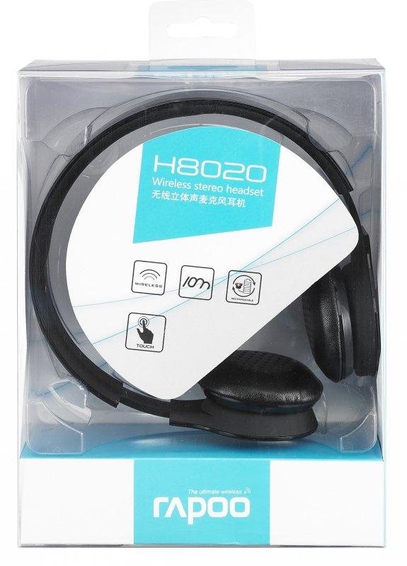 rapoo H8020 - 2.4GHz Wireless USB Headset czarny