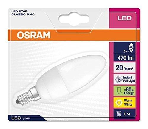 OSRAM LED STAR CLASSIC B40 6W E14 - matowy Blister