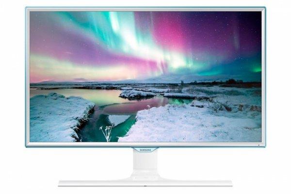 Samsung S24E370DL LED, biały, HDMI, DisplayPort, VGA, Ladefunktion