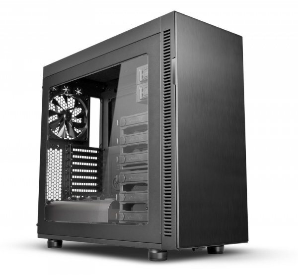 Thermaltake Suppressor F51 Power Cover Edition, Tower czarny, Window-Kit
