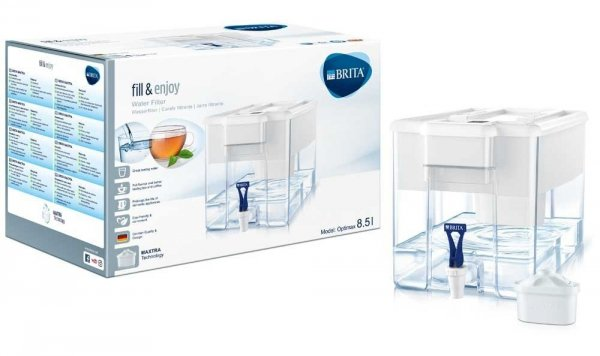 Brita Optimax Cool Memo biały