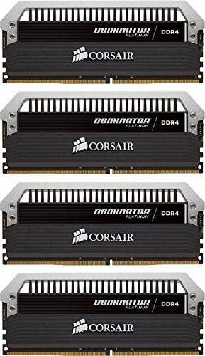 Corsair  16 GB DDR4-3200 Quad-Kit, CMD16GX4M4C3200C15, Dominator Platinum