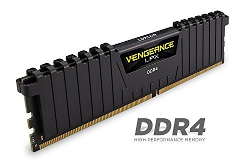 Corsair  16GB DDR4-3333 Kit, czarny, CMK16GX4M2B3333C16, Vengeance LPX
