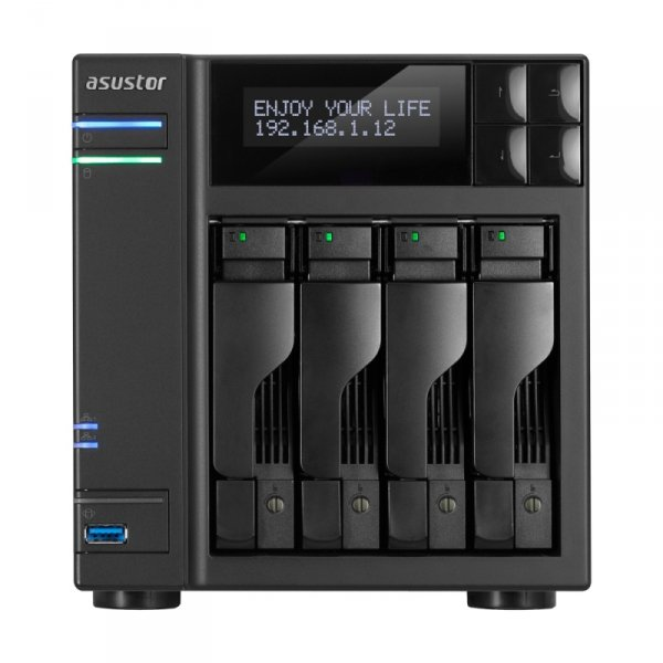 "Asustor AS6204T 2xGb LAN 4x3,5"", NAS"