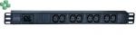 Easy PDU, Basic, 1U, 16A, 230V, (8)C13 (EPDU1016B)