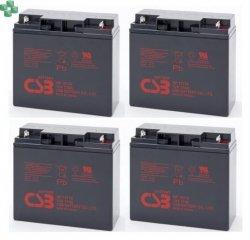 IQRBS55 Zestaw 4 akumulatorów 12V/17Ah do zasilacza UPS (równorzędny zamiennik dla APC RBC11 oraz 55)