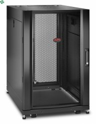APC NetShelter SX 18U Server Rack Enclosure 600mm x 900mm w/ Sides Black AR3006