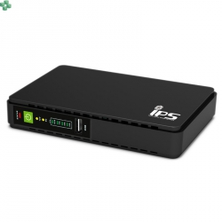 Dedykowany zasilacz awaryjny UPS 15W do routera, z funkcją ładowania urządzeń mobilnych, PoE