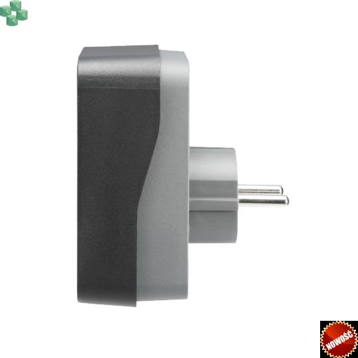 PME1WB-GR Gniazdo/przejściówka przeciwprzepięciowa - APC Essential SurgeArrest 1 Outlet Black 230V Germany (SCHUKO)