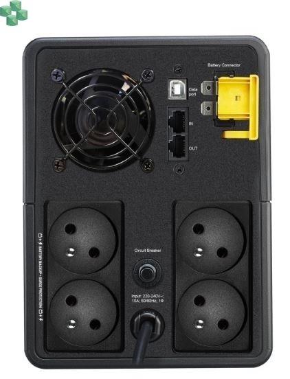 BX950MI-FR Zasilacz UPS APC Back-UPS 950VA/520W, 230V, AVR, gniazda FR, Off-Line