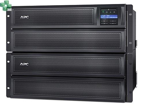 SMX2200HVNC APC Smart-UPS X 2200 VA, płytka obudowa typu wieża/możliwość montażu w szafie rack, LCD, 200–240 V z kartą sieciową