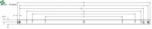 EBAB00 Listwa PDU EPDU BA 0U (309 16A 3P) 36 x C13, 6 X C19