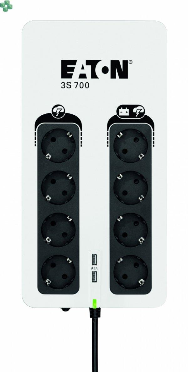 3S700D UPS Eaton 3S 700VA/420W DIN (Schuko)