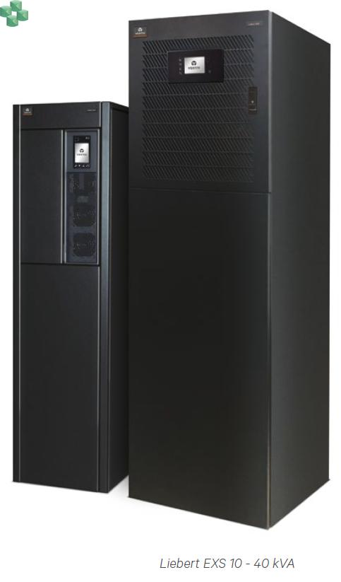 Zasilacz VERTIV UPS Liebert® EXS 3/3, 3/1, od 10 do 40 kVA, pf=1