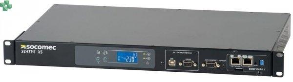 SOCOMEC STATYS XS 16A - przełącznik źródła zasilania do szafy rack (bez karty sieciowej SNMP)