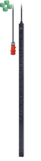 Easy PDU, Basic, Zero U, 22 kW, 230V, (30) C13 & (12) C19, IEC309 (EPDU1232B)