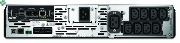 SMX2200R2HVNC APC Smart-UPS X 2200 VA R2T2U do montażu w szafie/w obudowie typu wieża, LCD, 200–240 V, z kartą sieciową