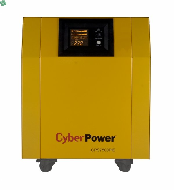 CPS7500PIE Zasilacz UPS CyberPower 7500VA/5250W, długie czasy podtrzymania, sinus na wyjściu Baterie zewnętrzne do kupienia osobno.