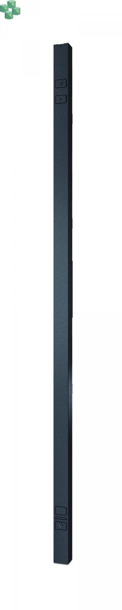 AP8481 Listwa zasilająca PDU do montażu w szafie 2G, monitorowana z dokładnością do jednego gniazda, Zero U, 11,0 kW, 230 V, (21) C13 i (3) C19, 3F/1F