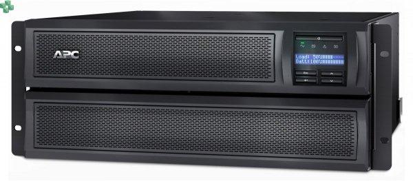SMX2200HVNC APC Smart-UPS X 2200 VA, Line-Interactive, płytka obudowa typu wieża/możliwość montażu w szafie, LCD, 200–240 V z kartą sieciową