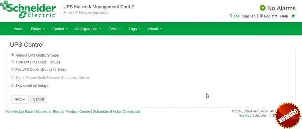 AP9641 Karta zarządzająca UPS Network Management Card 3 z opcją monitorowania środowiska