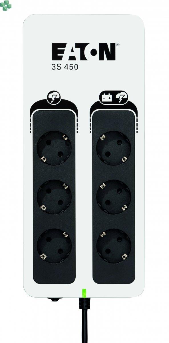 3S450D UPS Eaton 3S 450VA/270W DIN (Schuko)
